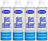 Sprayway Glass Cleaner SW-50 19oz - Pack of 4 Cans