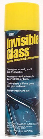Stoner 91166 Invisible Glass Cleaner - 19 oz.