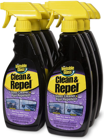 6 Pack Stoner Invisible Glass Cleaner With Rain Repellent