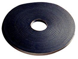 CRL 1/16'' x 3/8'' Poly Liner Black Double Sided Glazing Tape