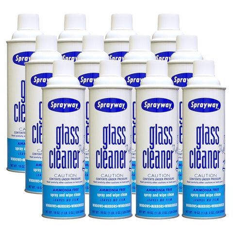 Sprayway 50 Glass Cleaner 12 Pack Cans (Case)