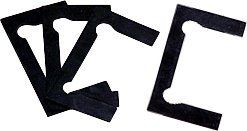 CRL Black Gasket Replacement Kit for Concord Hinges