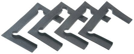 CRL Black Vienna Hinge Replacement Gasket Pack with Fin