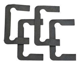 CRL Black Gasket Replacement Kit for Pinnacle Hinges