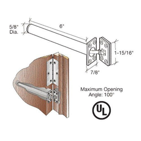 CRL Chrome Spring Action Concealed Door Closers