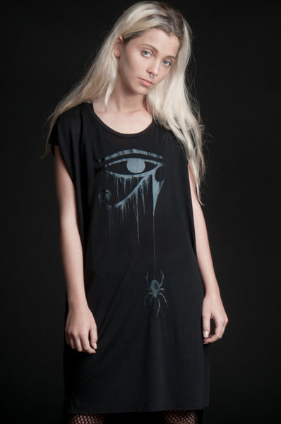 The Eye of Horus Draped Tee