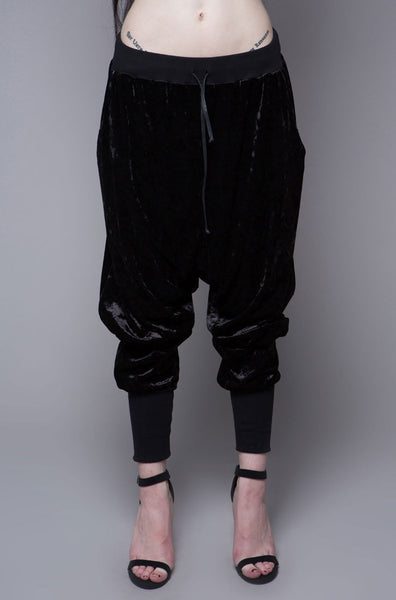 Fanciful Alley Velvet Joggers