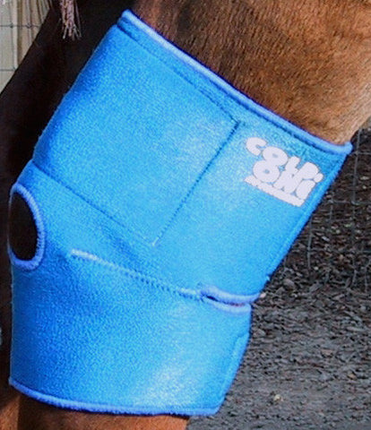 Equine Hock, Hoof and Knee Ice Compression Wrap by Cold One®