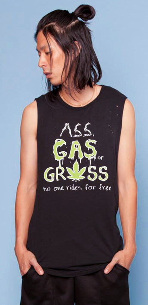 Ass Gas Grass Sleeveless Tee