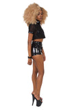 Chastity Strap Shorts - Black
