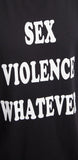 Sex, Violence, Whatever Sleeveless Tee