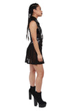Sunday School Dropout Jumper Skirt - Black