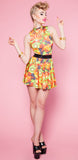Fruit Shake It Cutout Dress
