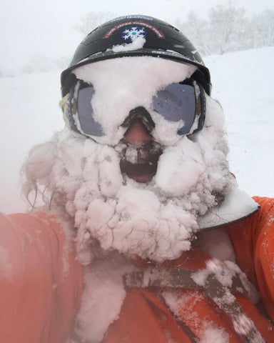 Pow beards are almost guaranteed when skiing with Casa Tours Owner Gomez