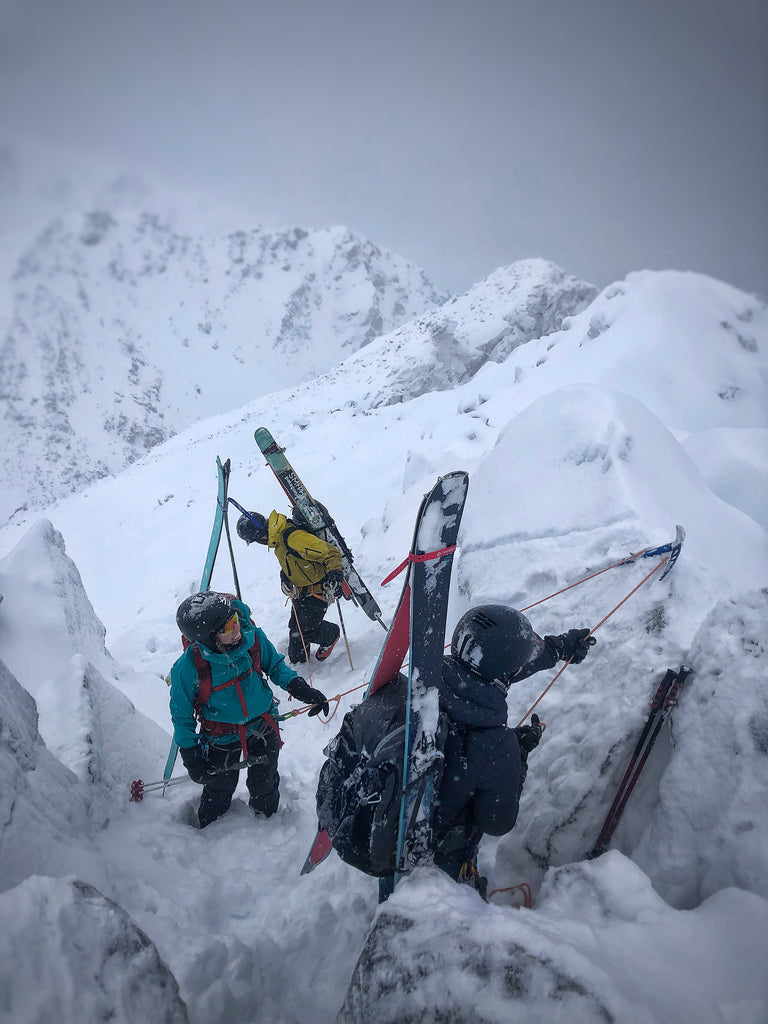 Ten years from now, Sullivan sees herself owning her own guiding business | Photo from Zenith Mountain Guides