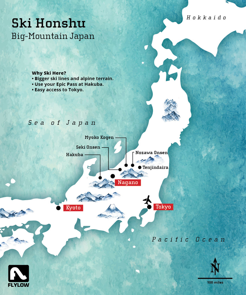 The Best Ski Resorts of Honshu Island Japan