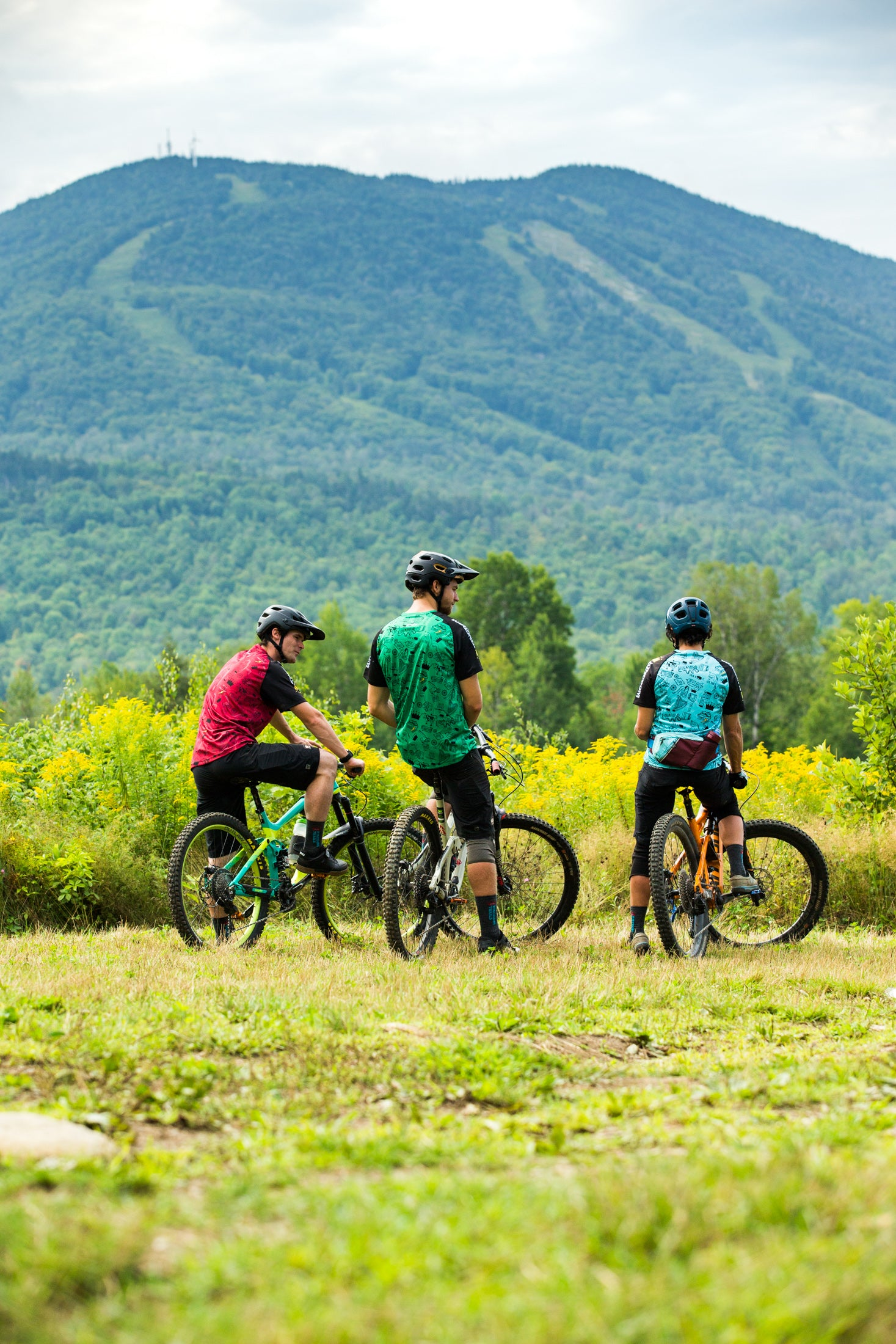 The trails are geared toward riders of all levels, from beginners to experts.
