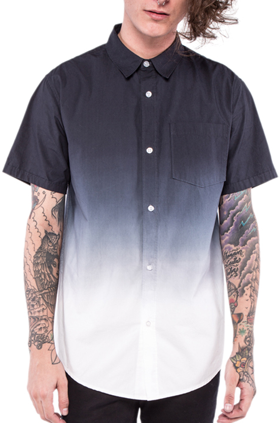 Death Breath Dip Dyed S/S Woven Shirt