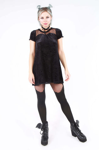 Cave Creeps Sweetheart Dress