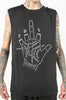 Palm Reader Unisex Muscle Tee