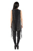 Death Catcher Fringe Tank Dress