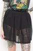 Behind The Pew Pleated Skirt (Black)