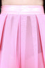 Behind The Pew Pleated Skirt (Pink)