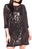 Wishbone Mesh Cover Up Dress