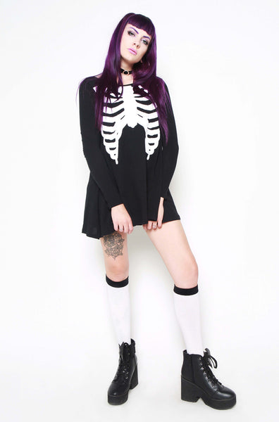 💔Wishbone Trapeze Dress 💔