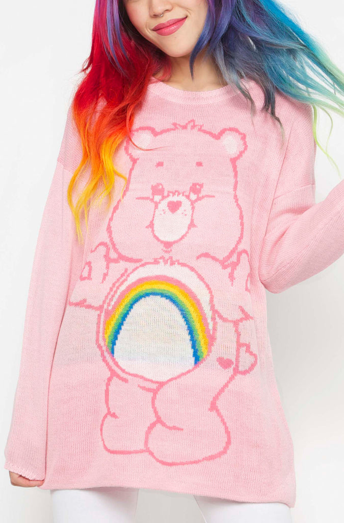 Cheer Bear Slouch Sweater
