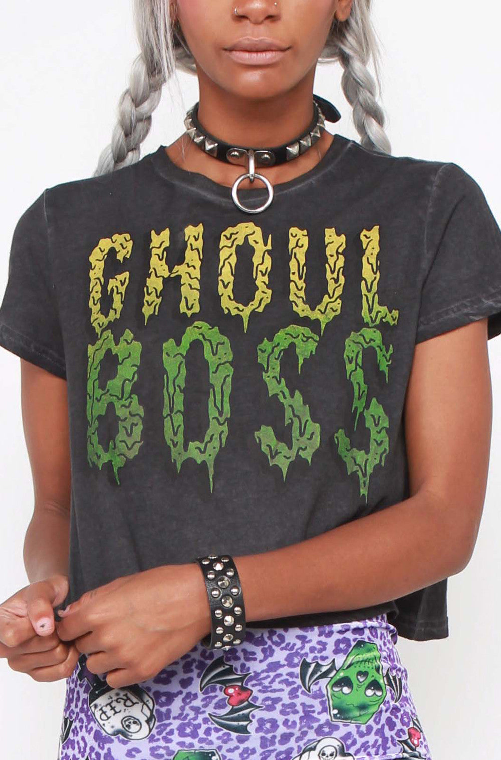 Ghoul Boss Crop Tee