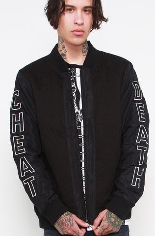 Cheat Death Bomber Jacket (Unisex)