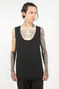Downtown Tail Unisex Tank (Black)