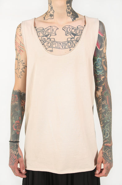 Downtown Tail Unisex Tank (Natural)