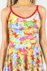 Iron Fist Clothing UK 2017 Spring Style Lots A Rainbows Dress Multi 5