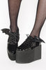Iron Fist Clothing UK 2017 Spring Bat Shoes Creature Of The Night Flatform Black 2