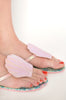 Into The Deep Flat Sandal (Pink)