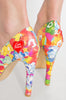 Iron Fist Clothing UK 2017 Spring Shoes Lots A Rainbows Platforms Multi 3
