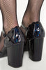 Mother Of Pearls Heel (Black)