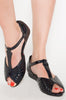 Mother Of Pearls Sandal (Black)