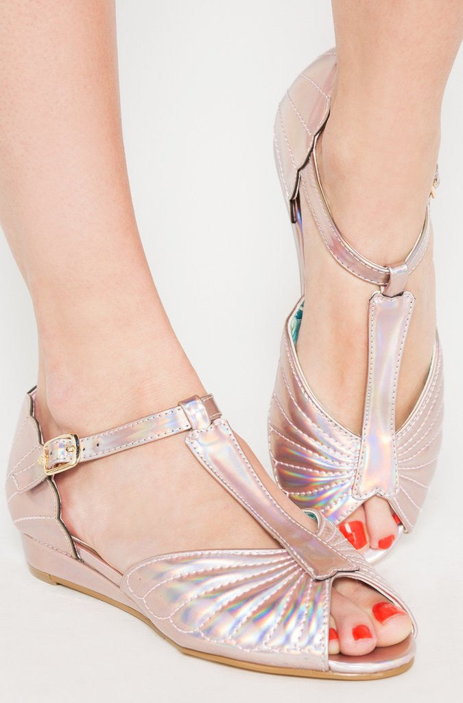 Mother Of Pearls Sandal