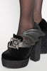 Iron Fist Clothing UK 2017 Spring Shoes Nocturnal Platform Black 4