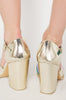 Iron Fist Clothing UK 2017 Spring Shoes Over It Heel Gold 4