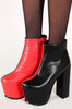 Too Faced Bootie (Black/Red)