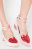 Turkish Delight Court Shoe