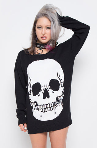 Skullz Club Sweater