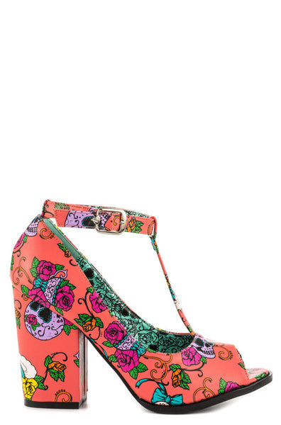 Sweet Tooth Peeptoe Heel