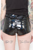 Chastity Strap Shorts (Black)