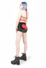 Heart High Waist Shorts (Black)