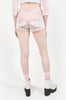 Heart High Waist Shorts (Pink)